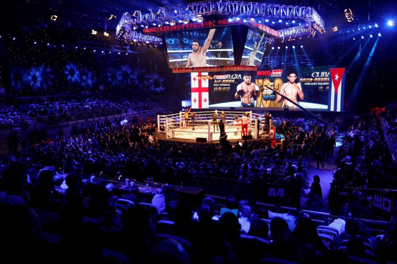 WKG&M-1世界综合格斗赛1月26日冰城热血收官