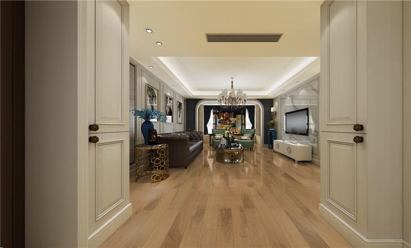 未来家地板:怎么看都不腻,原木地板让家美出了新高度