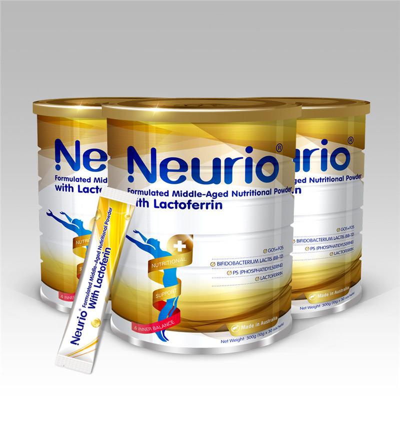 中老年人的福音:纽瑞优中老年人乳铁营养蛋白粉