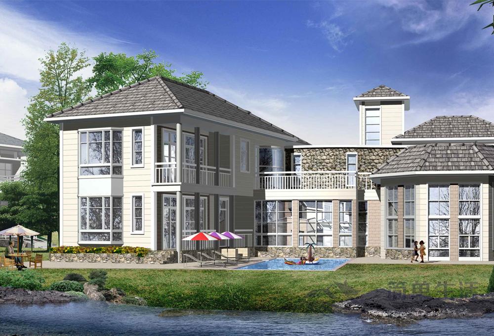 简单生活轻钢别墅 助力绿色装配式建筑新趋势