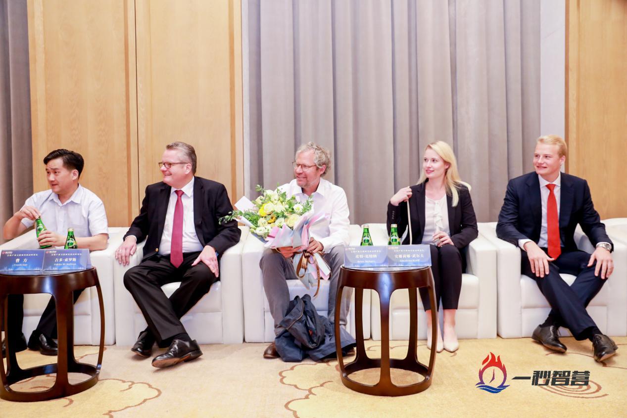 前总统武尔夫与耀霆集团举行会谈
