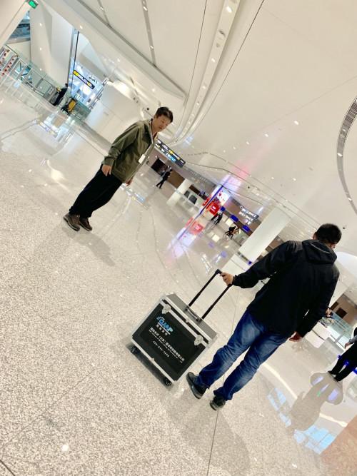 """""""国检安评""""服务大兴国际机场----直饮水机水质检验验收工作顺利开展"""