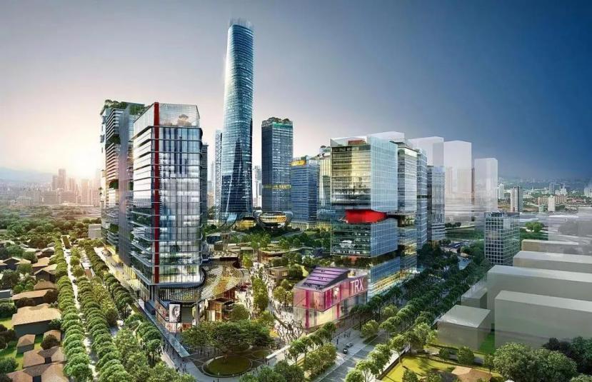 2020年,马来西亚吉隆坡未来的商业金融中心!