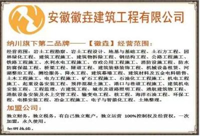 安徽徽垚建筑工程有限公司六安分公司成立啦