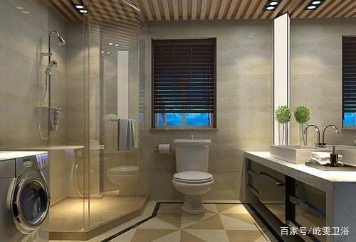 卫生间装修不能马虎02小卫生间也能装出高颜值02