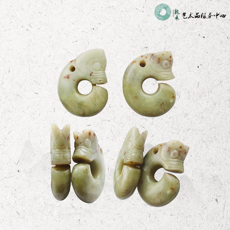 贵州乾禾特别推荐:C型玉猪龙一对