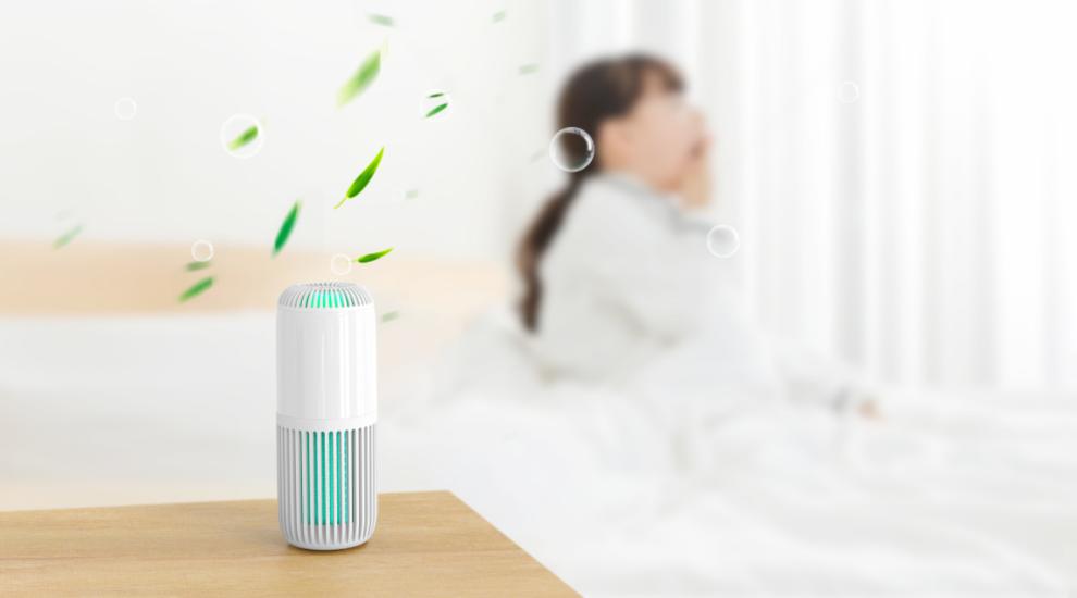 换季容易感冒?耐奥金V1 Lite空气净化器杀菌除醛,灭杀流感病毒