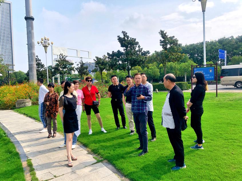 上海交大总裁班参访红星美凯龙洪泽湖和盱眙项目