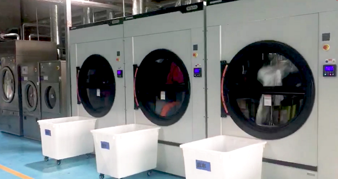 布瑞琳洗衣:第三智能中央洗衣工厂投入运营