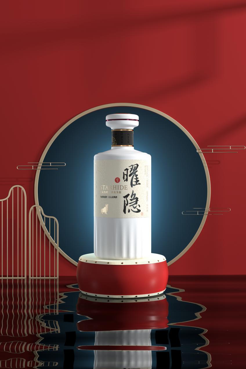 重质保价,首选曜隐STARHIDE酱香型白酒!