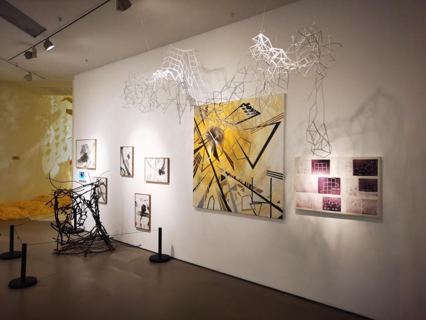 蕃茄田艺术会员优秀作品亮相北京今日美术馆ANOBO展